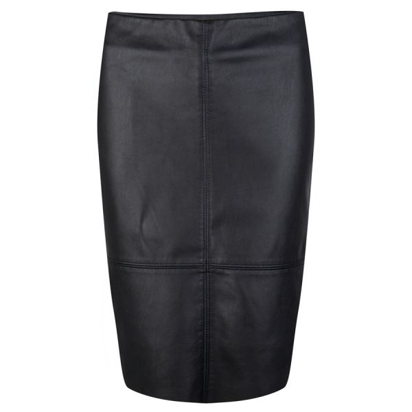 Skirt PU pencil