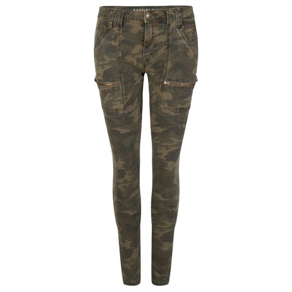 Trouser jeans military