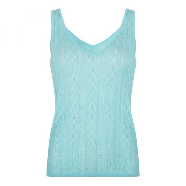 Top pointelle knit