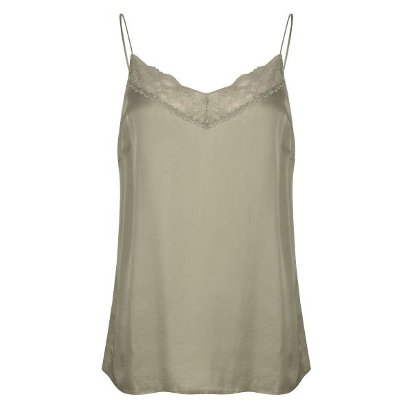 Camisole satin lace