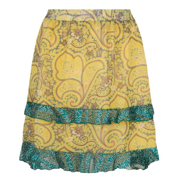 Skirt paisley layers