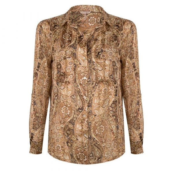 Blouse oversized paisley