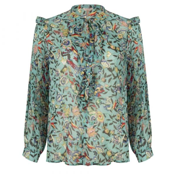 Blouse flower garden