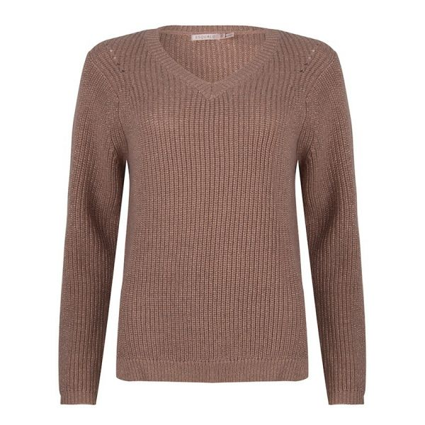 SWEATER LUREX VNECK