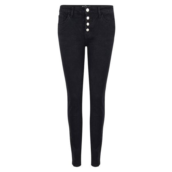 TROUSERS BUTTONED CLOSURE