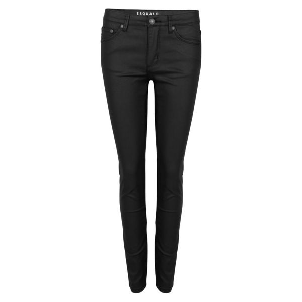 Trousers 5 pocket coated