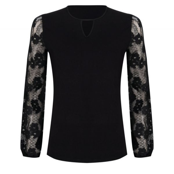 Top lace flower