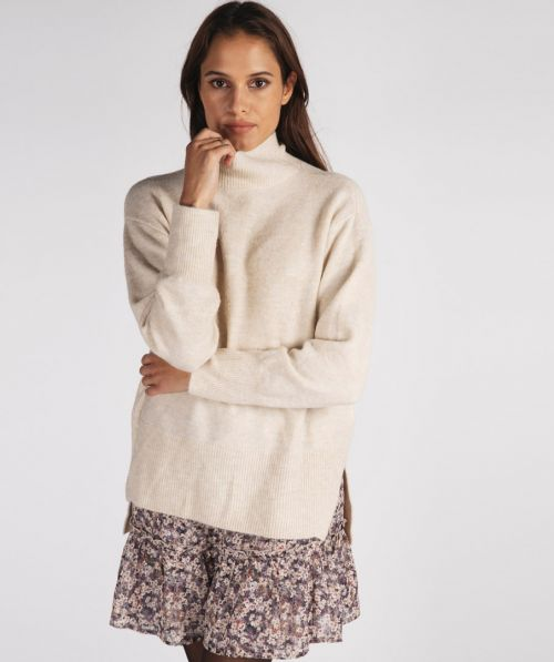 Sweater col oversized