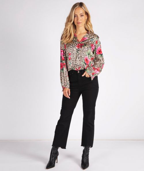 Trousers jeans bootcut