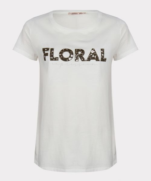 """T-shirt """"floral expression"""""""